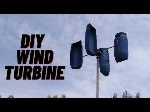 DIY Wind Turbine  Green Energy How to Make Wind Turbine Generator at Home