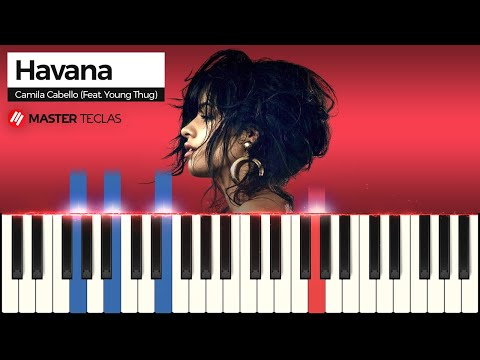 💎Camila Cabello - Havana - Piano tutorial - Master Teclas💎