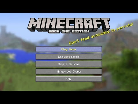 Minecraft Xbox One - How To Go Back To Old Updates On Xbox One Edition [Tutorial Tuesday]