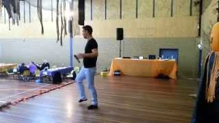 Wrapped Up Line Dance (Choreographed by Simon Ward)