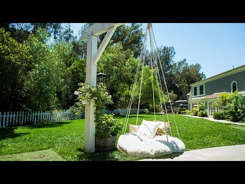 DIY Trampoline Swing - Hallmark Channel