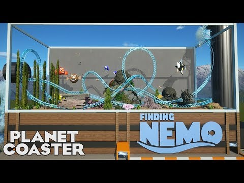 FINDING NEMO! Movie Coaster! Expert Entry 01 #PlanetCoaster