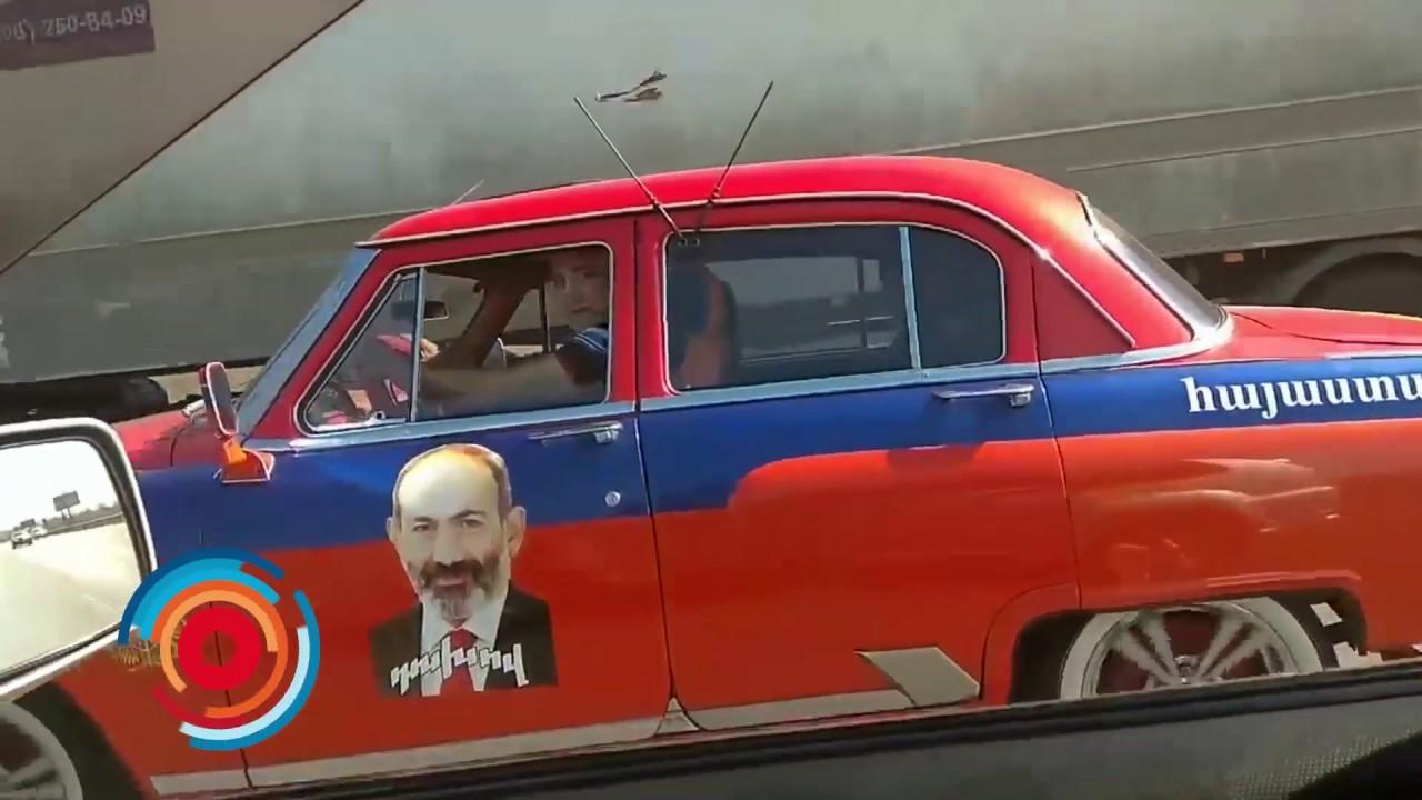 Տեսանյութ.Փաշինյանն ու Պուտինը Մերձմոսկովյան շրջանում «երթևեկում են» «Վոլգայով»