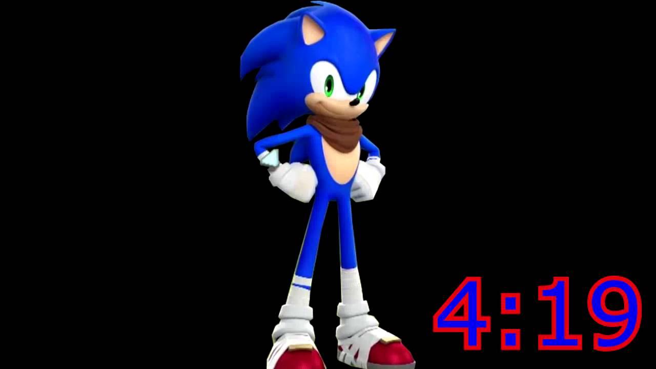 4:19 vs 4:20 (Sonic)