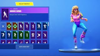 "*NEW* ""AEROBIC ASSASSIN"" SKINS SHOWCASE WITH ALL NEW FORTNITE DANCES & EMOTES!"