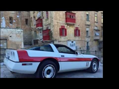 A Team Corvette Photo Shoot in Valletta