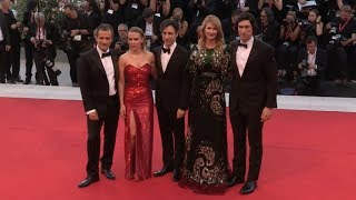 Scarlett Johansson and Marriage Story Cast at Venice Film Festival Red Carpet
