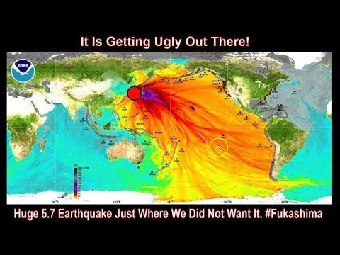 Major 5.8 Magnitude Earthquake Right On Fukashima!