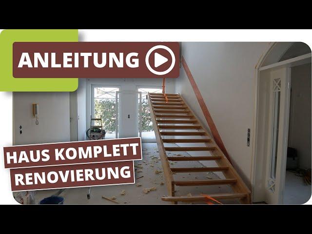 Haus Komplettrenovierung mit planeo