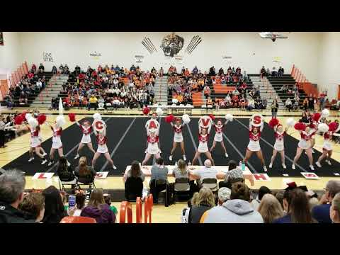 Lord Botetourt High School at Spirit Explosion Cheer Competition 2018
