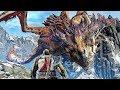 God of War 4: DRAGON FIGHT Boss Battle - 4K Gameplay PS4 Pro