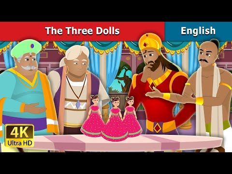 Three Dolls Story In English   Stories For Teenagers   English Fairy Tales