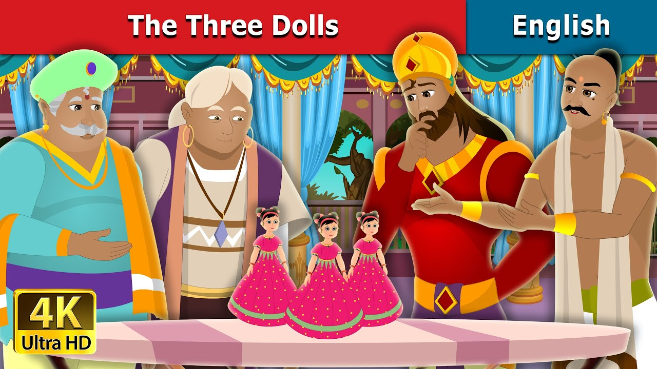 Download Three Dolls Story in English   Stories for Teenagers   English Fairy Tales