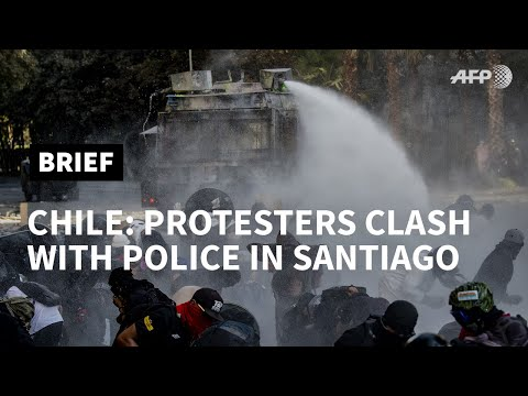 Clashes as thousands protest in Chile | AFP