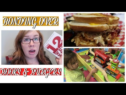 Download Youtube: Bonding Over Books & Burgers | FAMILY VLOGS