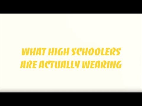 what highschoolers are wearing // monterey, california