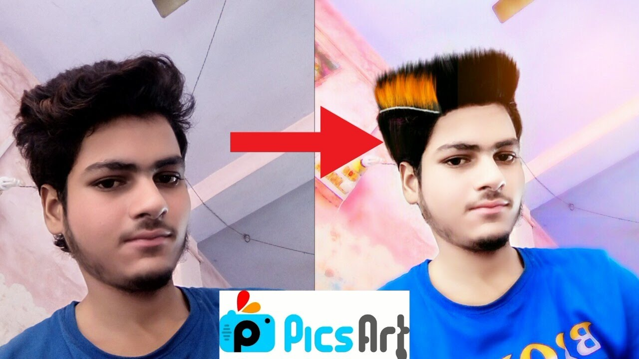 change hair style photo editor how to change hairstyle in picsart picsart editing 6790