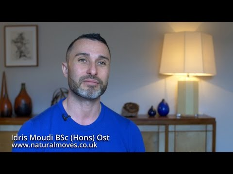 Idris Moudi Osteopath and Pilates Instructor In Notting Hill