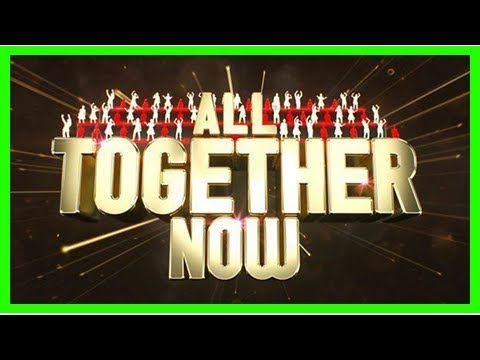 What time is All Together Now on BBC One tonight, who's presenter Rob Beckett and how is Geri Horne