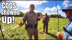 COPS Called While Bass Fishing on Highway Ponds!!