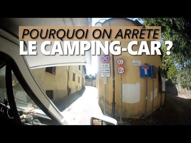 S3/E8 - Gros changement en Italie on arrête le CAMPING-CAR ! / vlog camping car - Van
