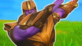 FORTNITE THANOS DANCES AND EMOTES