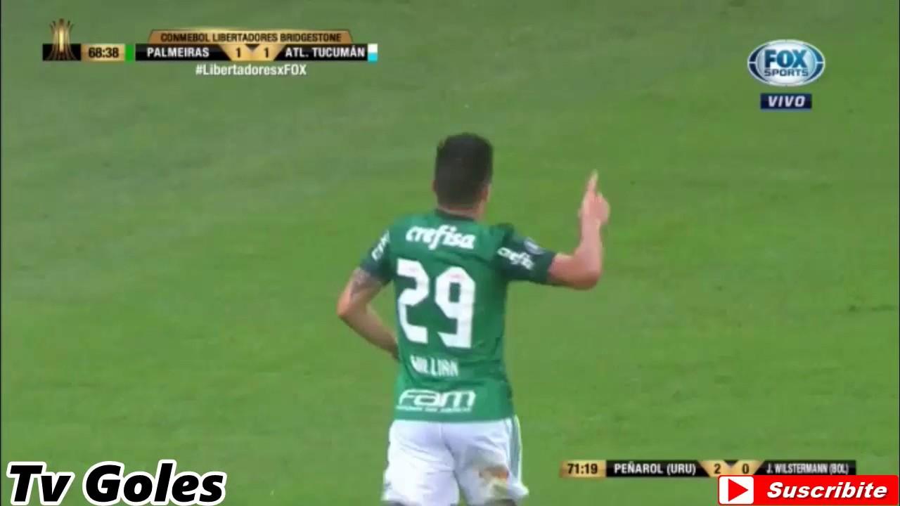 Palmeiras 3-1 Atletico Tucuman