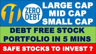 Debt Free stocks in Indian stock market | Multibagger stocks 2019 | best shares to buy now in India