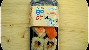 Penny to go Sushi Box getestet von WieEsWohlSchmeckt  Deutsch