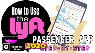 ✅How to use the Lyft Rider App 2020