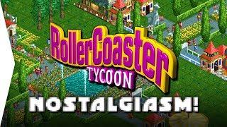 RollerCoaster Tycoon 1 ► Gameplay & Nostalgia! - Theme Park Management Sim - [Nostalgiasm]