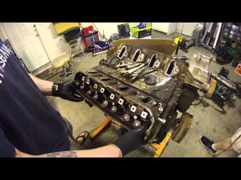 LSx Top End Tear Down  - Head & Intake Removal - PART 2 - 5.3 Squirter Project - LS1