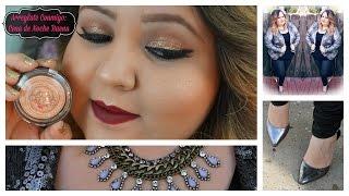 Arreglate Conmigo Para La Cena de Noche Buena: Atuendo y Maquillaje