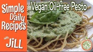 Creamiest Dairy-free Oil-free Pesto Ever