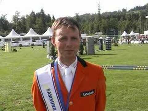 Paardensport - Vincent Voorn dubbel foutloos in Sankt Gallen