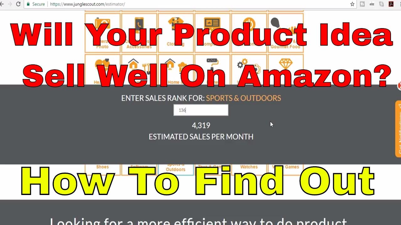 amazon sales rank estimator