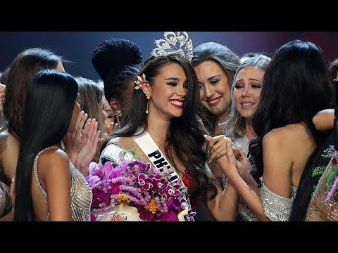 الفلبين تفوز لرابع مرة في مسابقة ملكة جمال الكون التي ضمت متحولين جنسيين لأول مرة…  - 17:54-2018 / 12 / 17