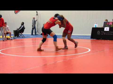2013 Wesmen Duals: 51 kg Masrine Edwards vs. Kate Richey