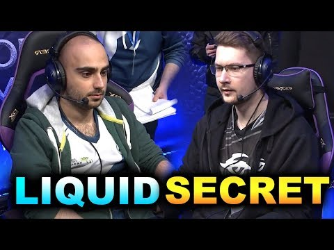 LIQUID vs SECRET - WHAT A MATCH! - CHONGQING MAJOR DOTA 2
