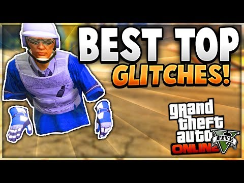 """GTA 5 Online: BEST TOP 5 Glitches! """"After Patch 1.42"""" (Invisible Body & More!)"""