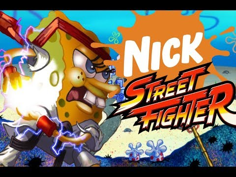 Playing Nickelodeon Street Fighter... I mean Super Brawl World