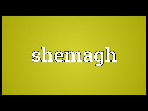 Shemagh Meaning