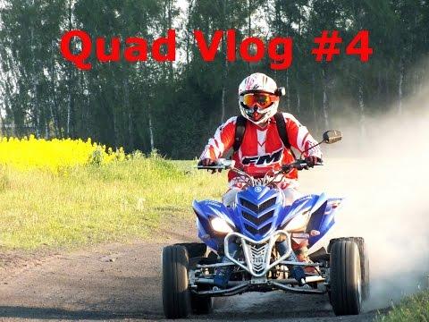 Quad Vlog #4 - Leśniczy, Pierwszy Quad, Spalanie, Homologacja - Yamaha Raptor 700