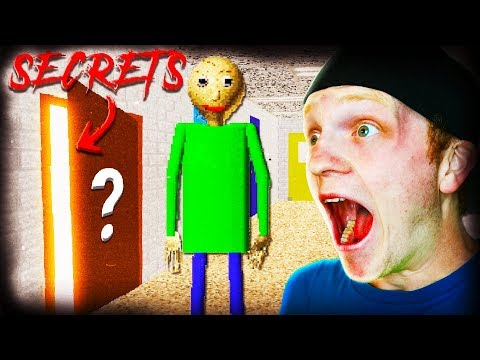 DEEP SECRETS OF BALDI'S BASICS! *DON'T TRY!*