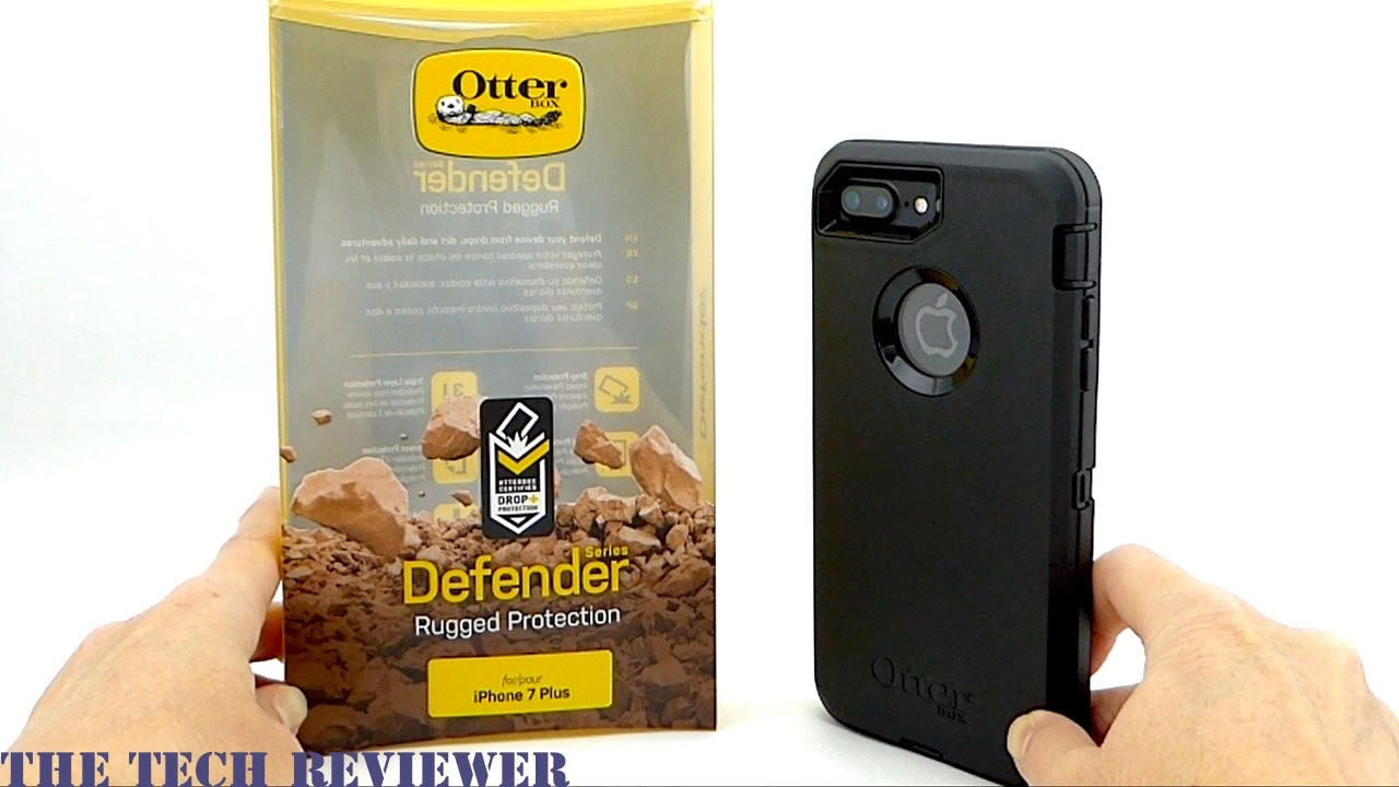buy online 5f2e2 32625 Otterbox Defender for iPhone 7 Plus: Solid, Serious Protection!