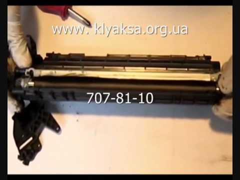 Дефект печати Samsung ML-1520D3 (www.zapravim.zp.ua) - YouTube