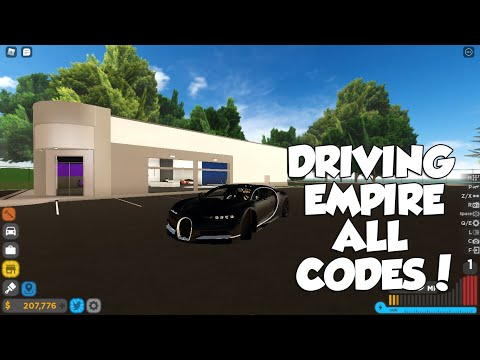 ROBLOX DRIVING EMPIRE *MAY* 2021 ALL CODES!