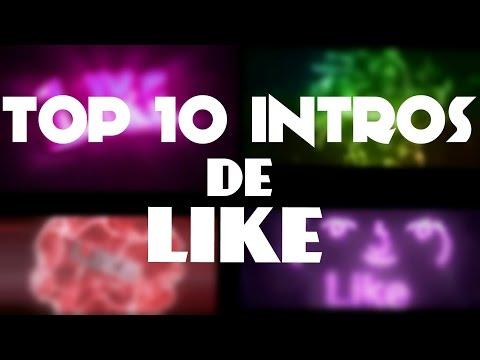 TOP 10 INTROS DE LIKE + DOWNLOAD | Sir Riick