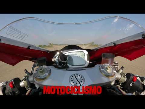 MV Agusta F4 RC 2017: 0 to top speed acceleration