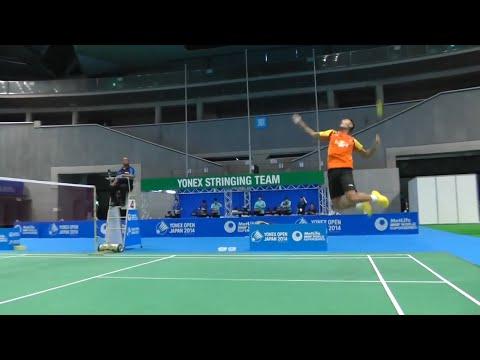 Young Chinese Talent can beat Lin Dan? Lin Dan vs Xue Song   JO 2014   Shuttle Amazing